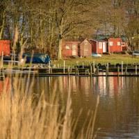 Eget tema 45 - Sjöbodar/Boathouses (352/365)